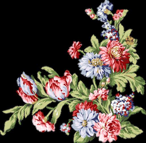 Flores Realistas: Bordes para Scrapbooking de Bodas, Aniversarios y Fiestas de Compromiso.