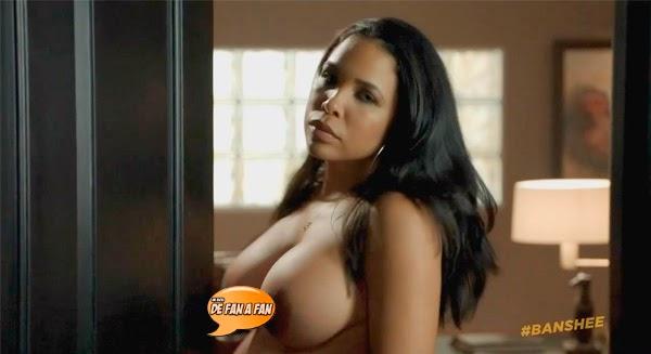 "Maya Gilbert desnuda en ""Banshee"""