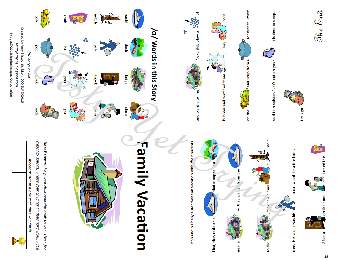 Testy Yet Trying Speech Therapy Kit Card Sets And