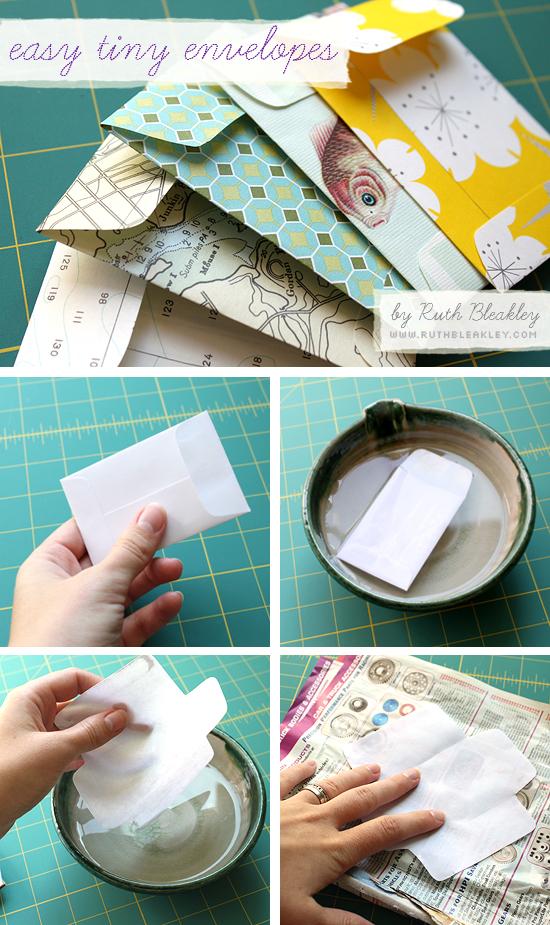 Tutorial Easy Tiny Envelopes Poppytalk