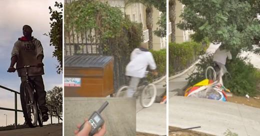 Intentan robarse bicicleta y reciben descarga eléctrica
