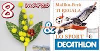 Logo Mallku-Perù Speciale Festa della Donna: in omaggio card Decathlon