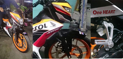 Bocoran Foto Honda Sonic 150R Dan Video cover
