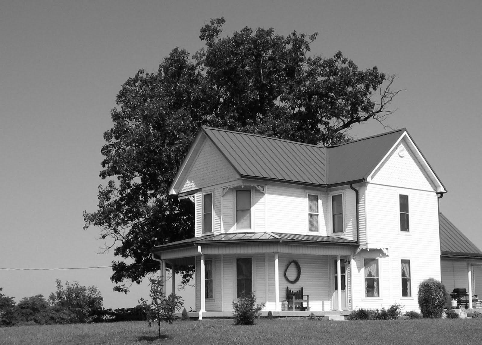 Feels Like Home to me The little white farmhouse