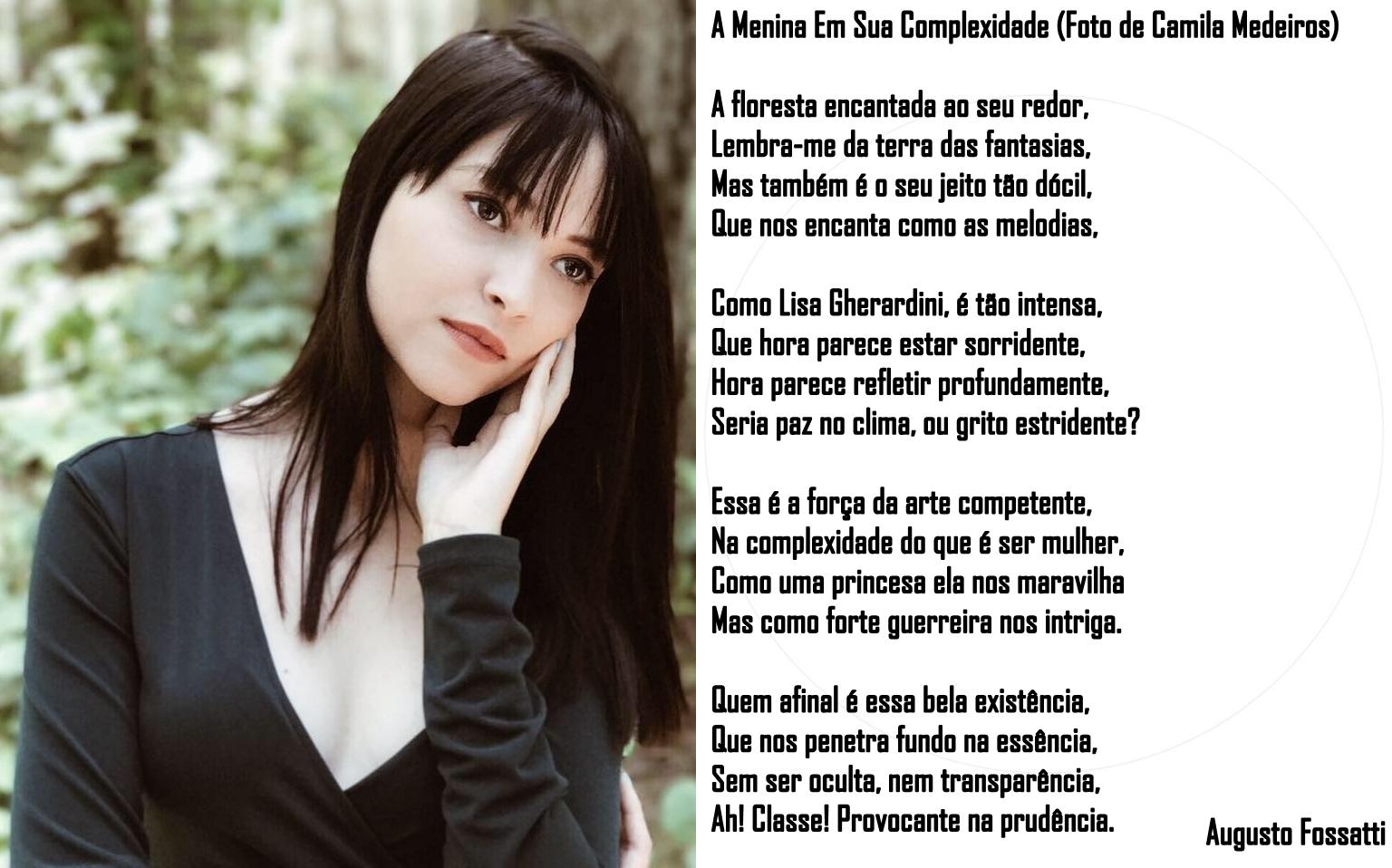 ELA É UM POEMA #6 - A MENINA EM SUA COMPLEXIDADE