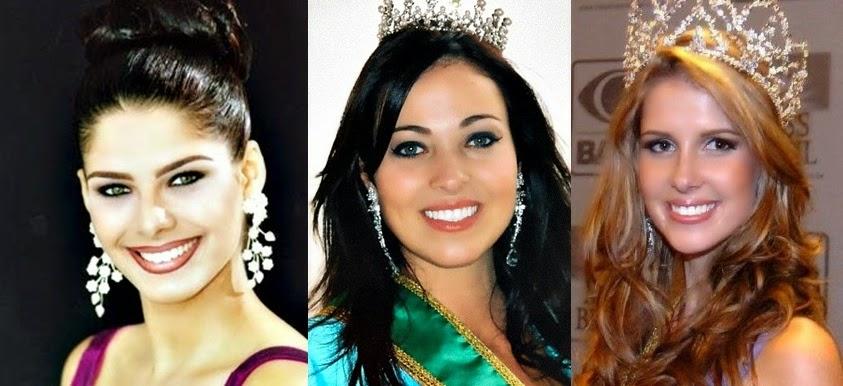 Misses Universo Brasil 2003, 2004 e 2005
