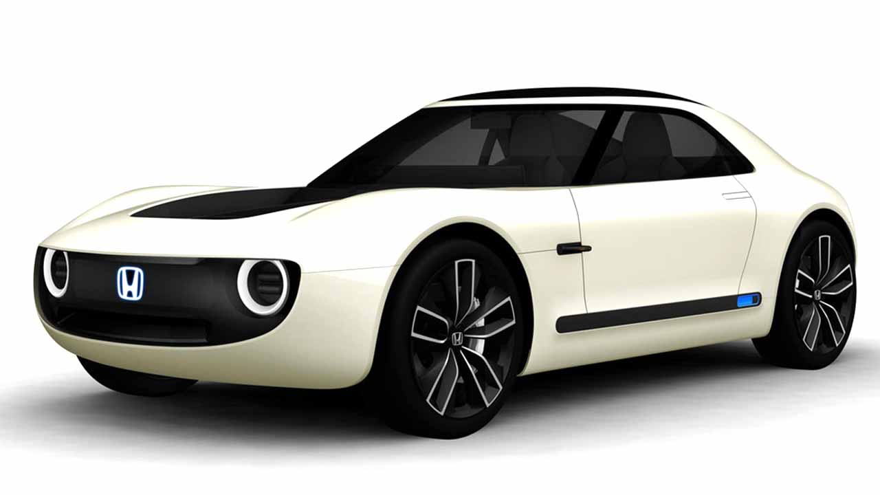 The Honda Sports EV Concept Is A Small Twoseater Sports Car - Two seater sports cars