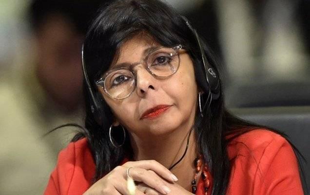 Delcy la Fea dice que en Venezuela la crisis es un invento