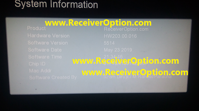 GX6605S HW203.00.016 HD RECEIVER CLINE OK NEW SOFTWARE