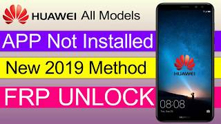 All Huawei 2019Remove Google Account Unlock FRP easy method Without PC