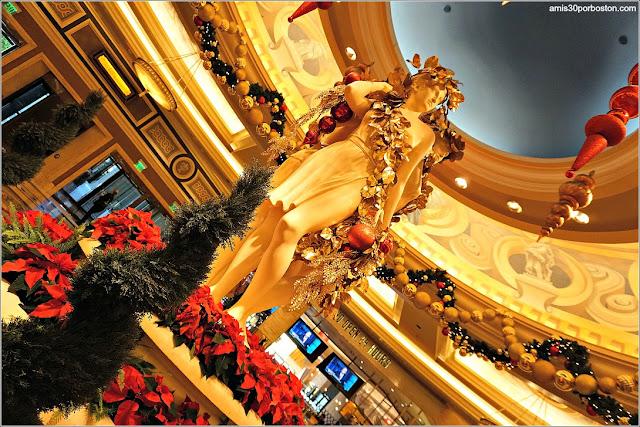 Navidad en Las Vegas 2017: Decoraciones en el Hotel Caesar Palace