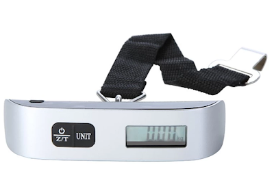 50 kg/110lb Portable Electronic Luggage Scale