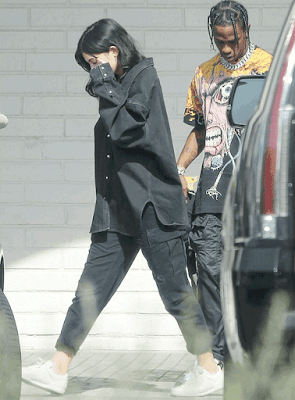 Kylie Jenner and her new man, Travis Scott spotted out again