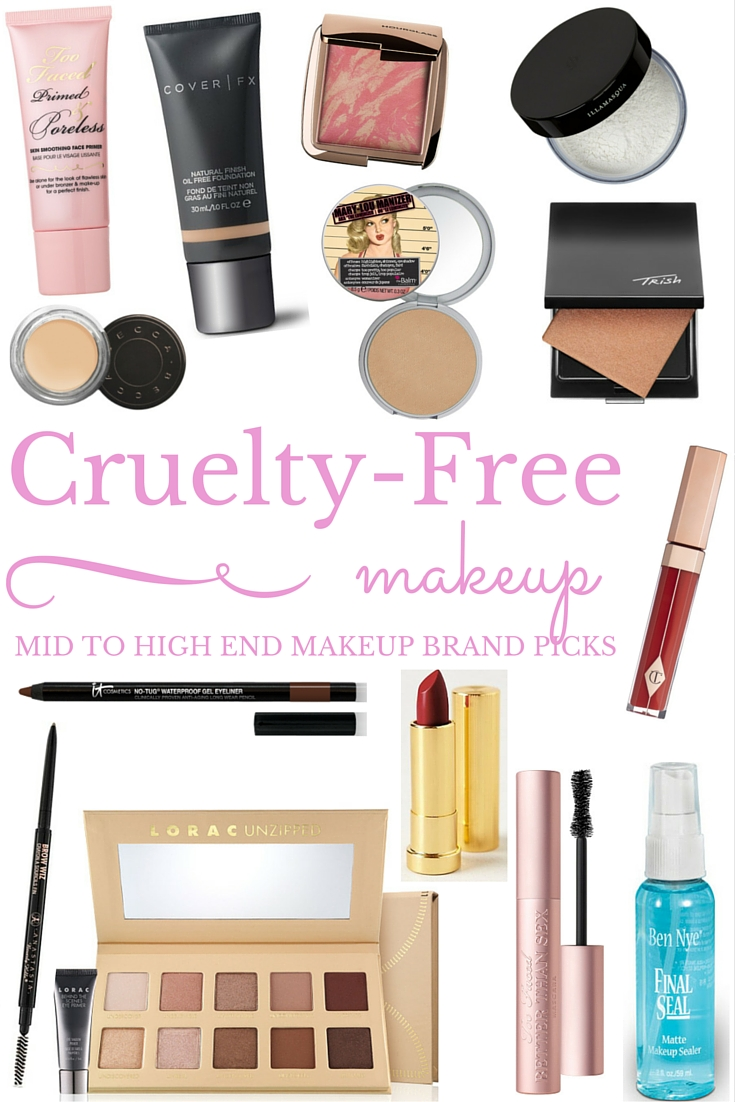 Not Entirely Perfect: Cruelty Free Makeup Picks