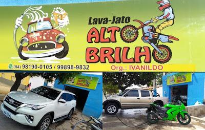 Em Pau dos Ferros/RN: LAVA JATO ALTO BRILHO