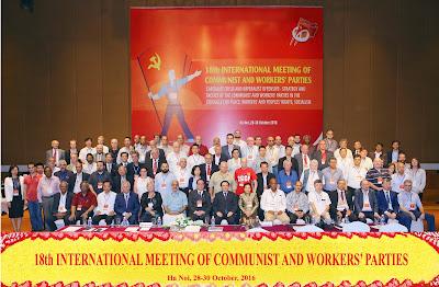 Imagini pentru Encuentro Internacional de Partidos Comunistas y Obreros celebrado del 28 al 30 de octubre de 2016 en Hanoi