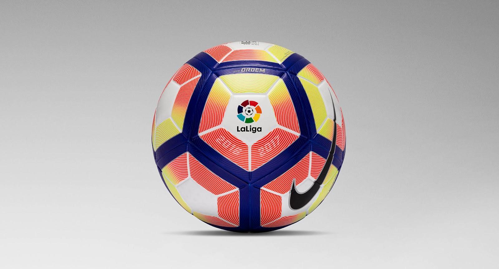 nike 1617 la liga ball revealed new ball deal announced