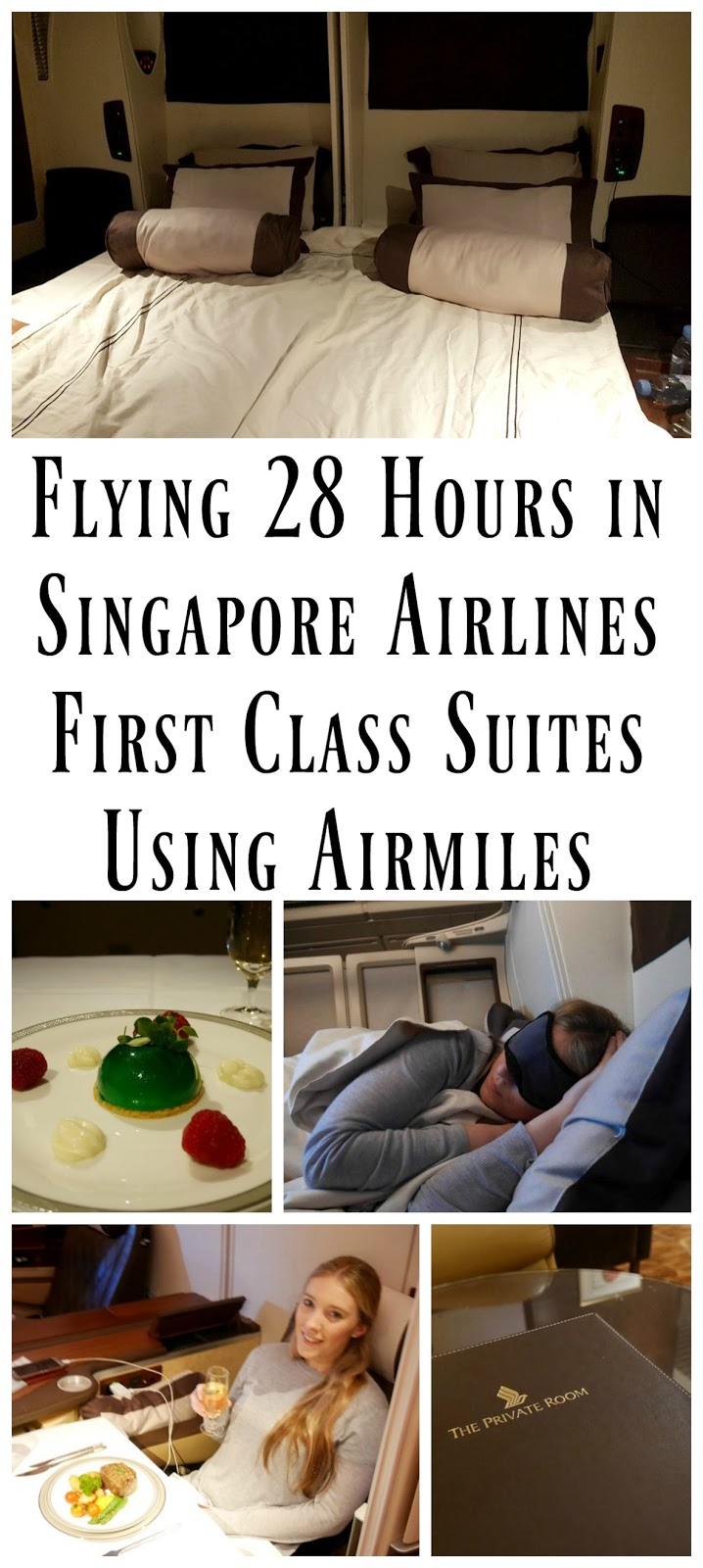 Find out just how insane my first experience in First Class was! I flew from Sydney Australia to NYC in Singapore Airline's First Class Suites - and even slept in a double bed in the sky!!