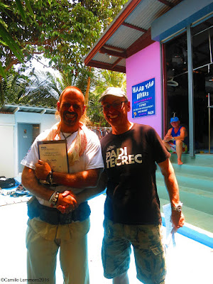 Testimonial by Jan of the March 2016 PADI IDC on Koh Phangan, Thailand