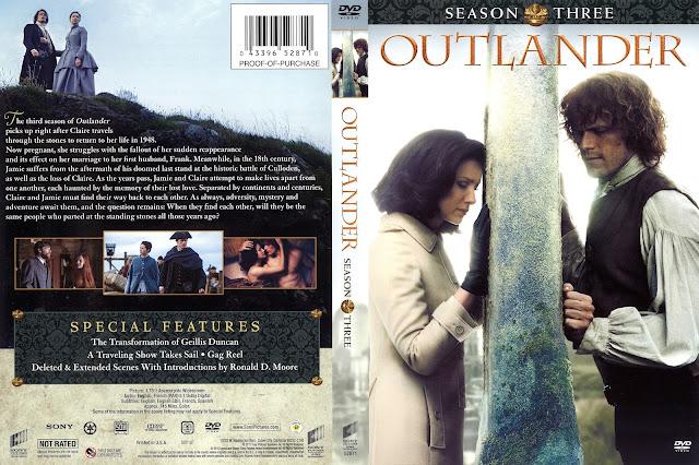 Outlander Season 3 DVD Cover