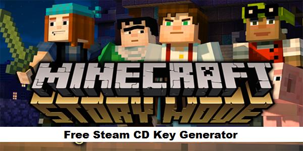 Minecraft Story Mode key, Minecraft Story Mode serial key, Minecraft Story Mode key code