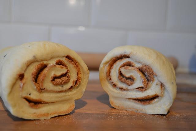 Cinnamon bun rolls