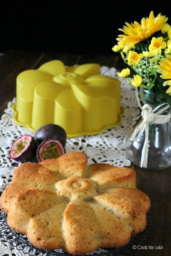 cake de mango, mango, maracuya