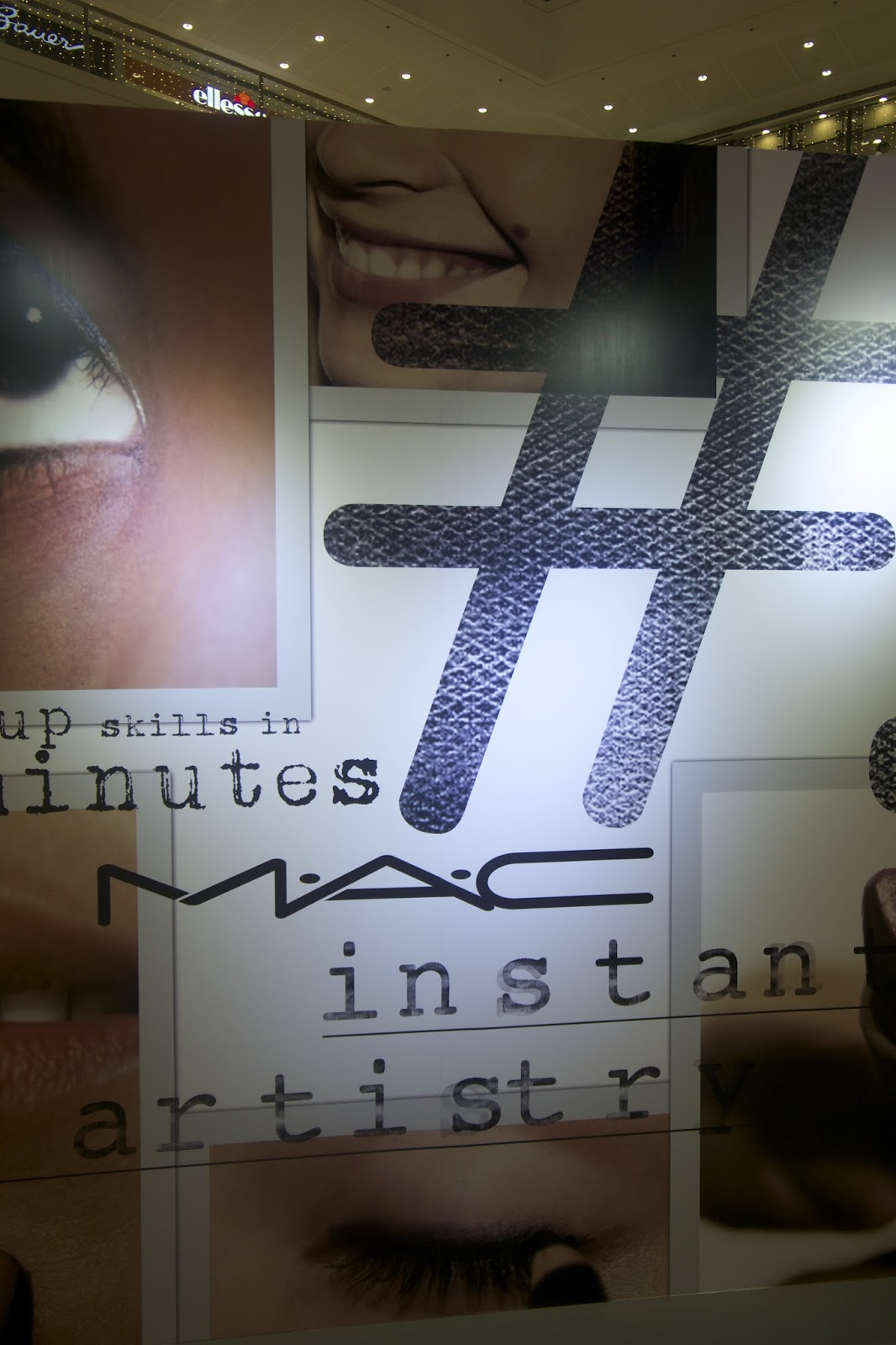 MAC Instant Artistry Philippines Sm megamall makeup in minutes