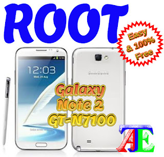 Root galaxy note 2 GT-N7100 V. 4.4.2