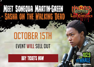 Halloween New England_Haunted Graveyard_Sonequa Martin-Green