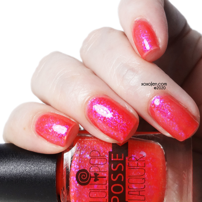 xoxoJen's swatch of Lollipop Posse Snicker-Snack