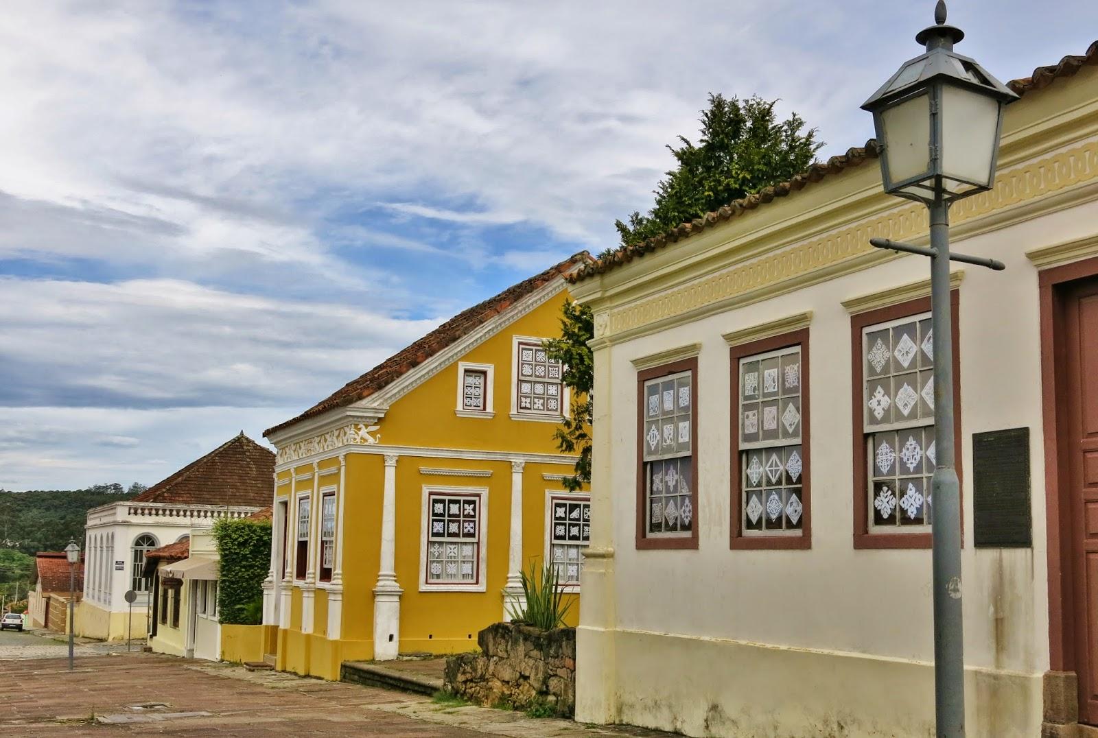 Centro histórico da Lapa, no interior do Paraná.