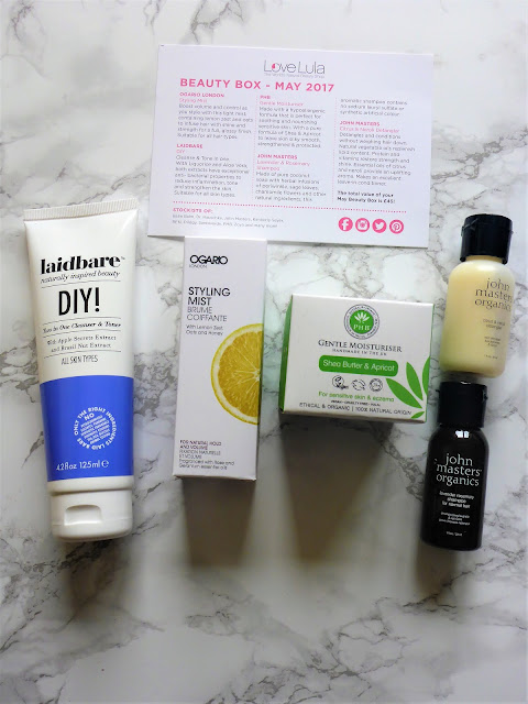 Love Lula Beauty Box May 2017