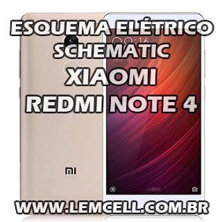 Esquema Elétrico Smartphone Celular Xiaomi Redmi Note 4 Manual de Serviço  Service Manual schematic Diagram Cell Phone Smartphone Celular Xiaomi Redmi Note 4 Esquematico Smartphone Celular Xiaomi Redmi Note 4