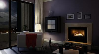 Gambar Lukisan Ruang Tamu Minimalis Terbaru Ide Dinding Interior