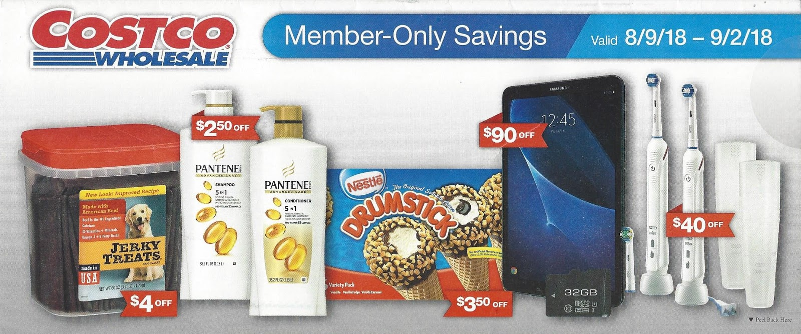 August 2018 Costco Coupon Book