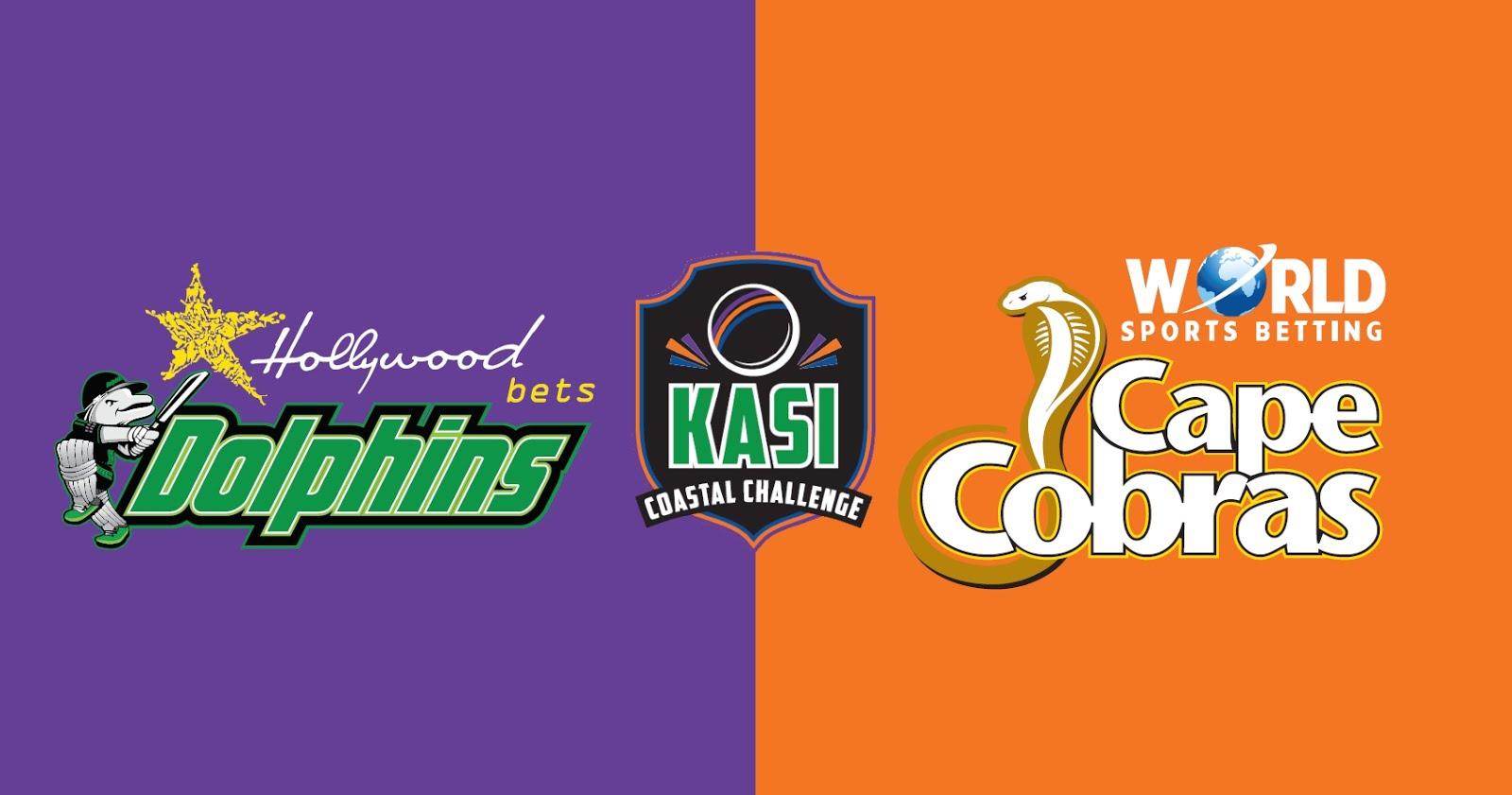 Kasi Coastal Challenge - Hollywoodbets Dolphins vs WSB Cape Cobras