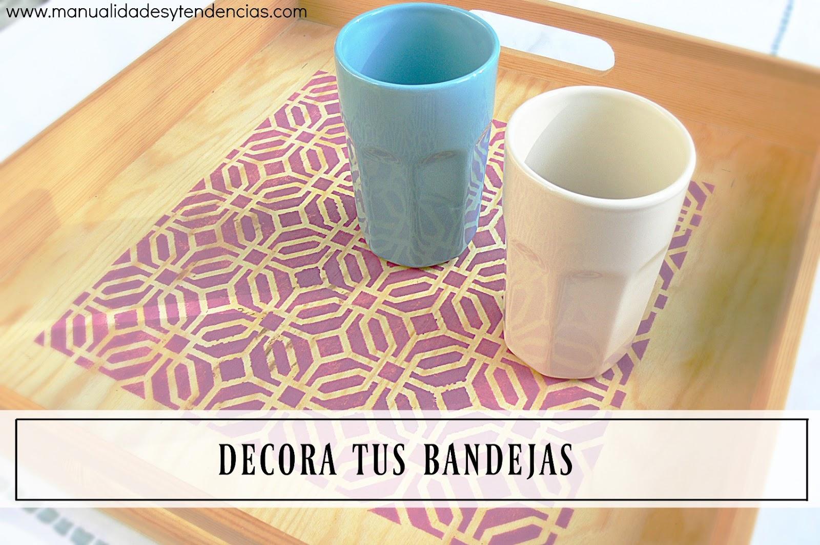 Manualidades y tendencias: Cómo decorar con plantillas / Stencil ...