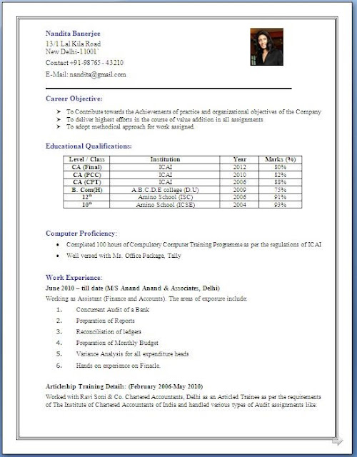 experience resume in sap fico