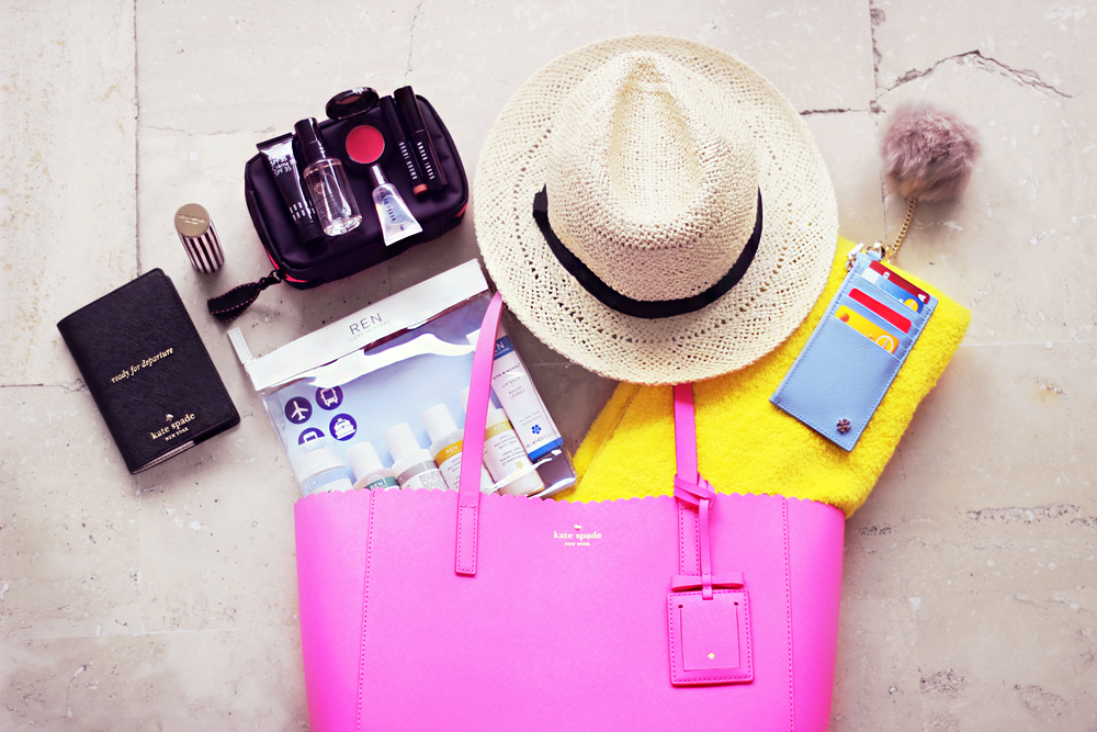 How To Pack Beauty Skincare Essentials For Trips Travel Aimerose Blog