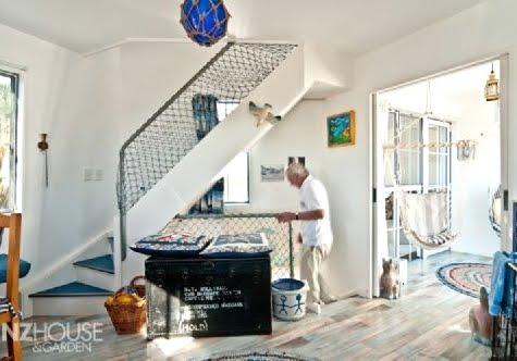 A Lighthouse Home Built From Scratch Coastal Beach Nautical