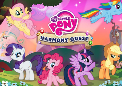 my little pony mobile free game harmony quest my little pony