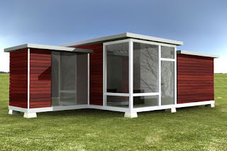 Small one bedroom modular building