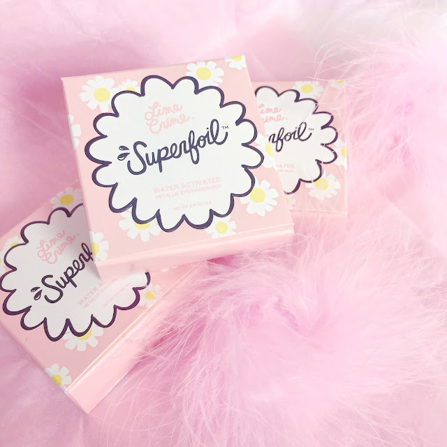 Lime Crime Superfoil Eyeshadows & Swatches