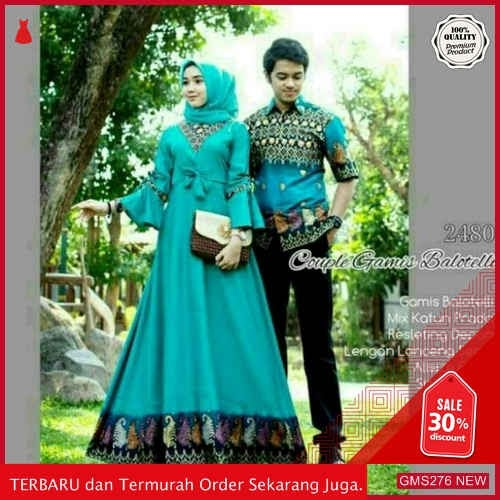 GMS276 SRKRS276C63 Couple Gamis Balotelli 2480 Couple Dropship SK1247169469