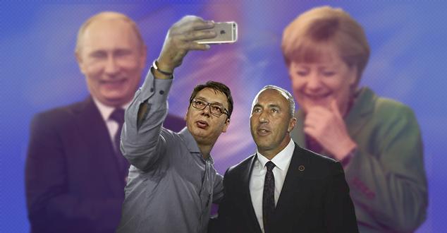 #Фото, #Илустрација, #КМ, #Новине, #км-новине, #Путин, #Рамуш, #Харадинај, #Меркел, #Вучић,