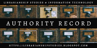 Authority Record