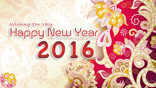 Happy New Year 2016 SMS in Hindi and facebook images