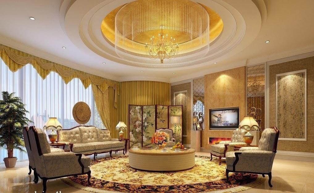 Décoration chambre à haut plafond