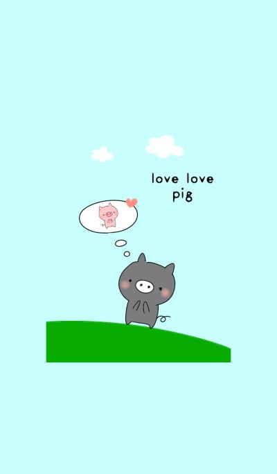 love love pig (boy)
